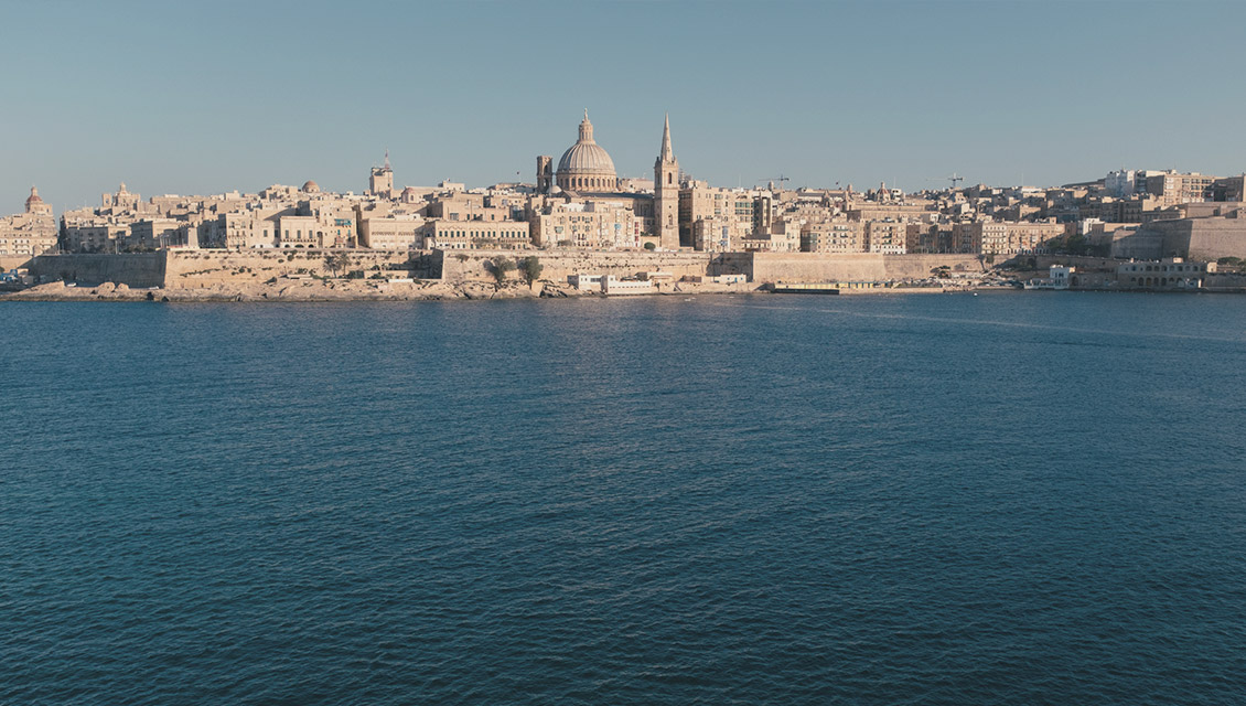 Sea View of Valletta